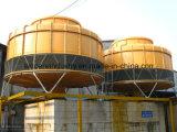 円形のタイプ冷却塔(FRP)