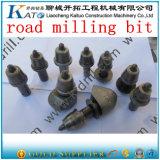 Estrada que nivela ferramentas de trituração da construção do bit para o pavimento Kt W7her do asfalto