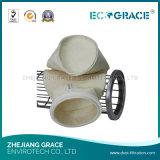 Sacchetto filtro acrilico di filtro dell'aria trattato di fusione
