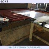vidrio de flotador inferior del hierro de 3.2m m para el panel solar Thin-Film