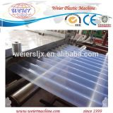 Линия PVC Transparent Roofing для Solar Application, Greenhouse и Window