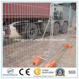 Il PVC ha ricoperto la rete fissa provvisoria della costruzione di 6FT