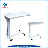 침대 테이블에 병원 의료 기기