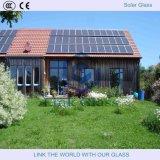 3.2mm templado ultra claro flotante doble lado ar recubierto de vidrio para el colector solar