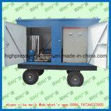 Producto de limpieza de discos industrial de alta presión de la presión de agua de la máquina de la limpieza del tubo