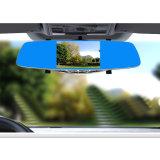 Auto-Flugschreiber-Digital-Videogerät HD DVR 5 Zollrearview-Spiegel mit GPS