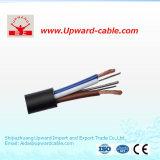 Гибкий кабель оболочки PVC проводника сердечника Rvv 3+2 медный