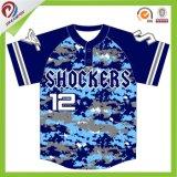 фасонируйте любому логосу изготовленный на заказ рубашку Dri бейсбола подходящий софтбол Джерси