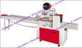 Máquina de embalagem horizontal do fluxo do bolo do macarronete imediato do alimento da embalagem