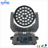 Do zoom movente claro do diodo emissor de luz das cabeças do estágio cor cheia 36PCS 10W RGBW China
