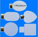 Mini mecanismo impulsor del flash del USB de la MAZORCA con insignia de encargo