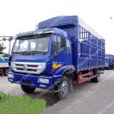 Neuer des gelben Fluss-4X2 Stange-Ladung-LKW Lastwagen-des Transport-7t für Verkauf