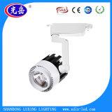 o projector das luzes do trilho do diodo emissor de luz Tracklight/da ESPIGA 30W para lojas da roupa/sapatas armazena o fio 2