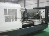 Ck6163 CNCの旋盤の金属の機械化のための頑丈な水平の旋盤機械