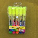 Crayon lecteur de barre de mise en valeur de deux extrémités, poste neuf du crayon lecteur 2017 fluorescents