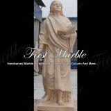 Statue mâle Main-Découpée Ms-1008 d'or de désert de granit de pierre de marbre de sculpture
