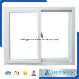 Finestra di alluminio di vetro lustrata doppio