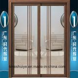 Portas deslizantes de alumínio de preço do competidor do fabricante de Foshan