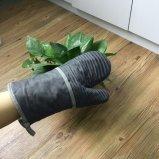 China-Fabrik-kundenspezifischer Silikon-Ofen-Handschuh-Handschuh für Küche-Großverkauf