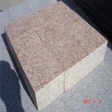 La fábrica suministra directo diversa piedra de pavimentación del granito de los colores