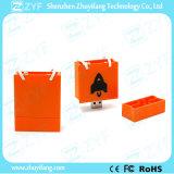 Marketing-Förderung-kundenspezifisches Einkaufstasche USB-Blitz-Laufwerk (ZYF1032)