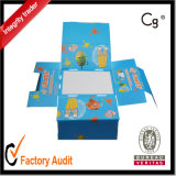 Caja de presentación impresa papel de encargo de la alta calidad pequeño, rectángulo del cartón, rectángulo de Packdging, rectángulo de regalo de papel