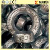 M24 C15/C15eの炭素鋼は電流を通されたDIN580持ち上がるアイボルトを造った