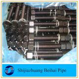 Tornillos del espárrago de ASTM A193 B7 con las tuercas Hex pesadas de ASTM A194 2h
