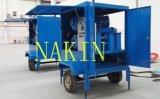 移動式オイル浄化のプラント、高真空の変圧器の油純化器機械