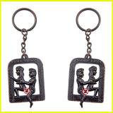 Lega Keychain sexy mobile del metallo dell'adulto per il regalo delle coppie