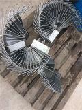 Het stempelen van de Zink Geplateerde Steun van de Ventilator van de Ventilator met Noten Pem