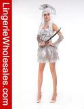 Сексуальный Costume Halloween Cosplay невесты привидения зомби пирата женщин