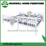 Bâti de couchette simple en bois de pin avec la roulette (WJZ-B716)