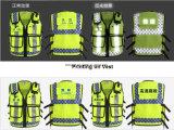 Da segurança elevada da visibilidade de Eniso20471certificate polícia reflexiva de Hong Kong da veste
