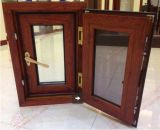 Haltbares Woodgrain-Aluminium, Aluminiumflügelfenster-Fenster (BHA-CWP15)