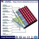 ISO y CE amplio abanico de luz Estructura del marco de acero de construcción de casa prefabricadas