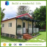 Modèle préfabriqué de maisons modulaires de coût bas européen de qualité supérieure petit