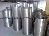Uso 316 del acero inoxidable 304 del Od 273 del filtro para pozos de Johnson en receptor de papel de agua