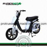 Motocicleta eléctrica con caucho delantero o caucho trasero
