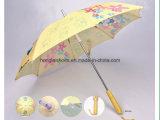 Recht Geel Calico: De Paraplu van het kind