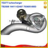 Turbocharger do Supercharger 14411-G2407 703605-0003 da roda Tb2580 do boleto para Nissan Td27t