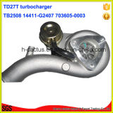 Tb2580 Turbocharger do Supercharger 14411-G2407 703605-0003 para Nissan Td27t