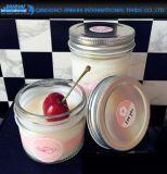 De Dienende Mok van het glas voor Dessert, Yoghurt, Roomijs