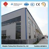 Almacén de la estructura del marco de acero del diseño prefabricado de la construcción y del bajo costo