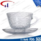 220ml SGSの等級の卸売のフリントガラスのティーセット(CHM8468)