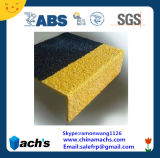 Bon Price Factory Direct Supply Fiberglass FRP GRP Anti-Slip Stair Nosings Passed ABS Certification et GV Test