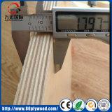 madera contrachapada rusa del abedul del grado comercial de los muebles de 18m m
