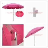 parasol en verre de fibre de 9FT avec le parasol détraqué de jardin