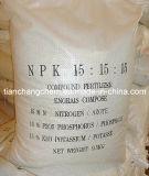 2014 fertilizzante composto NPK di vendita NPK 15-15-15te 20-20-20 solubile in acqua caldo