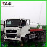 판매를 위한 연료 유조 트럭 6 x 4 336HP를 모는 왼손 유조선 트럭